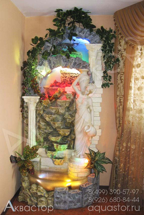Декоративные водопады для дома своими рукам 330